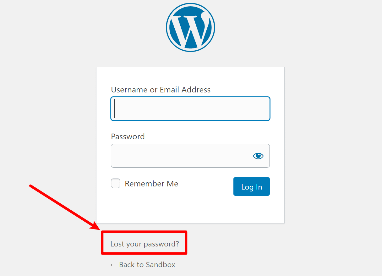Try the password reset when you can't access wp-admin
