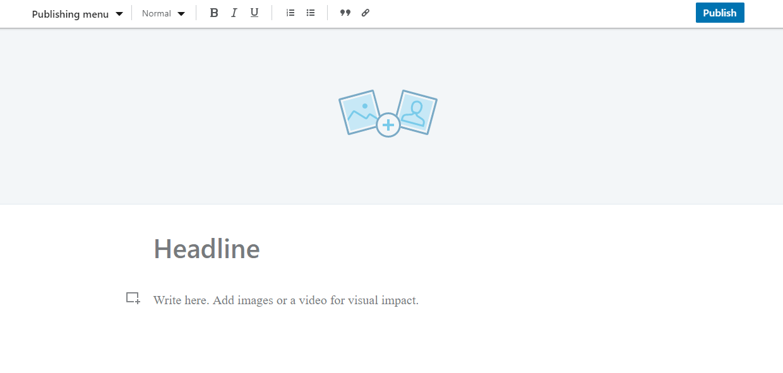 linkedin editor