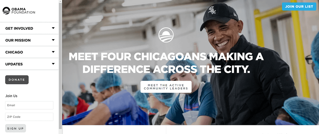 Fondation Obama
