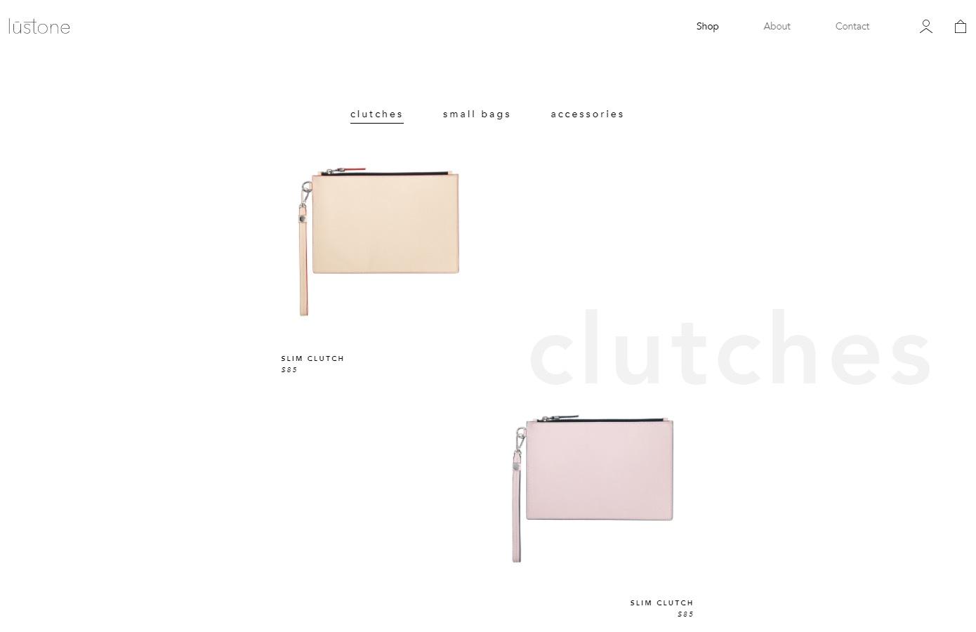 Lustone uses minimalist design to appear more elegant