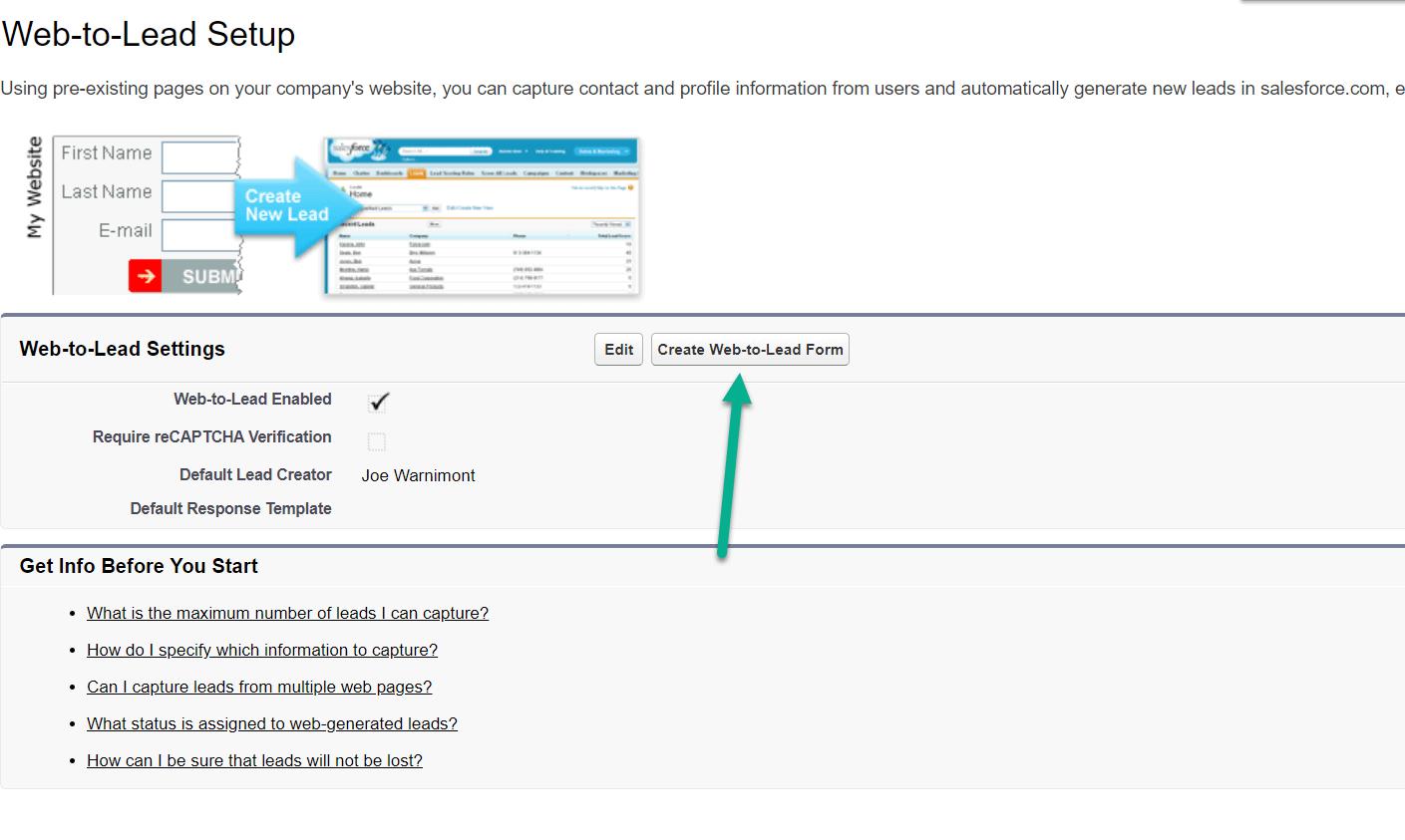 criar um botão de formulário