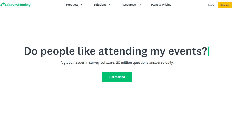 O Survey Monkey é uma alternativa sólida ao Formulários Google com um gerador de pesquisas.