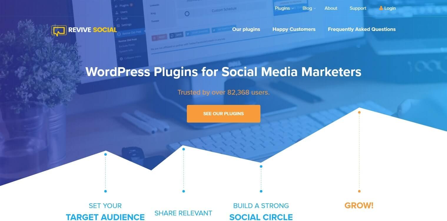 ReviveSocial plataforma de automatización de marketing