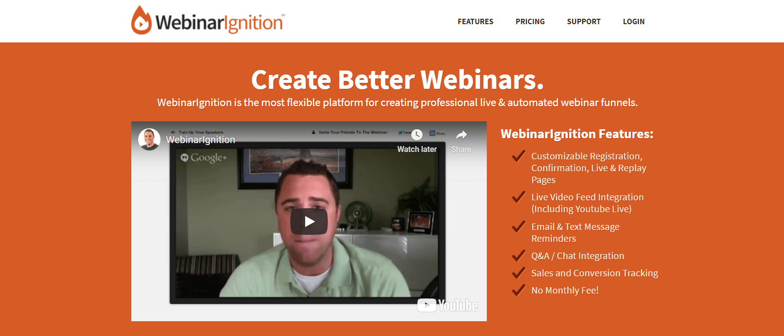 WebinarIgnition is a premium WordPress webinar plugin