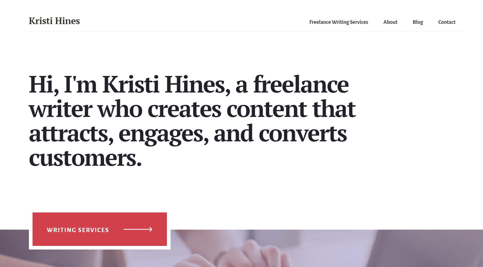 create custom homepage when switching from WordPress blog to website