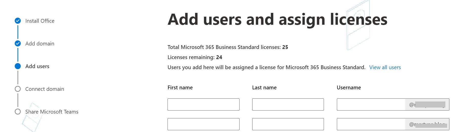 Agregar usuarios a una dirección de correo electrónico de marca personalizada en Office 365.