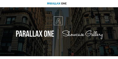 Parallax One Showcase Gallery