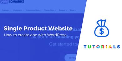Single Product Website