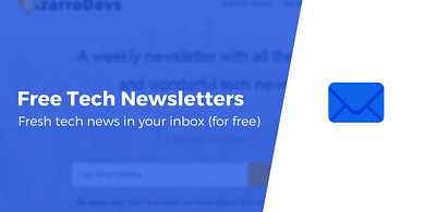 Free tech newsletters