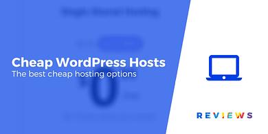 Cheap WordPress Hosting