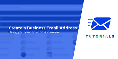 Create a business email address