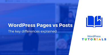 Difference WordPress Pages vs Posts