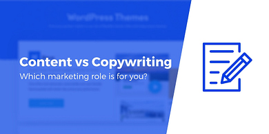 Cntent writing vs copywriting