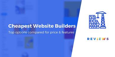 Cheapest website builders