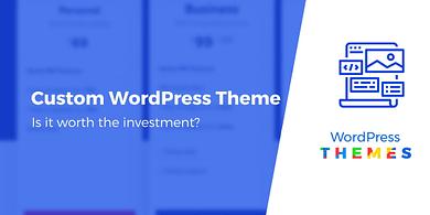 Custom WordPress theme
