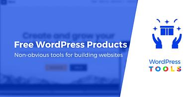 free WordPress products