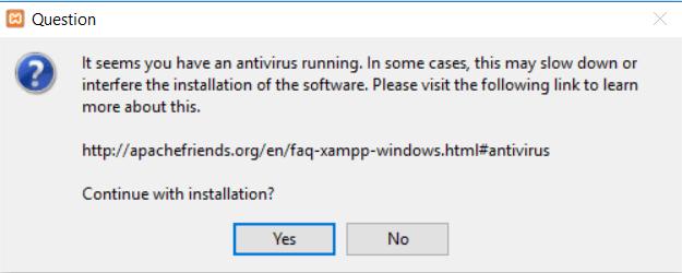 xampp install