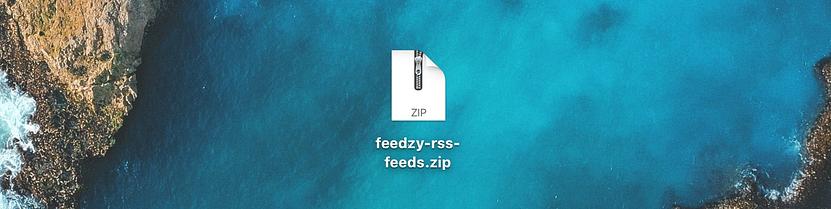 feedzy wordPress tutorial beginners free zip file
