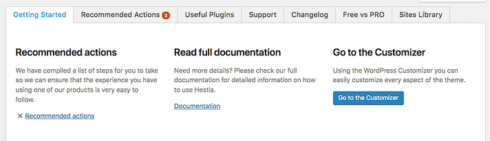 hestia recommended