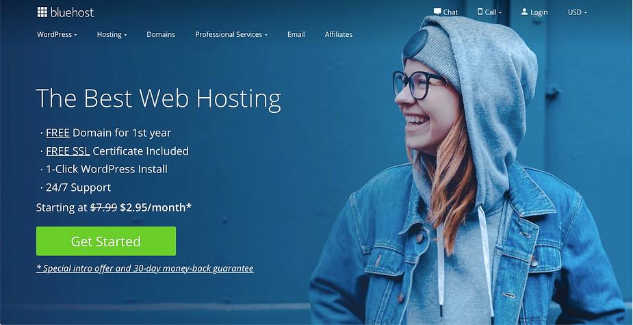 Bluehost vs. WordPress