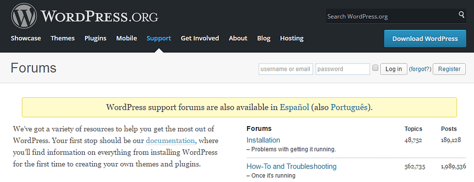 WordPress support forums can be great for blog post ideas