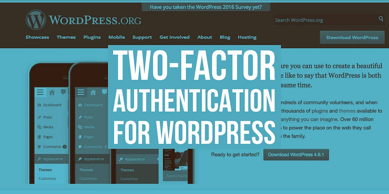 Two-factor authentication for WordPress