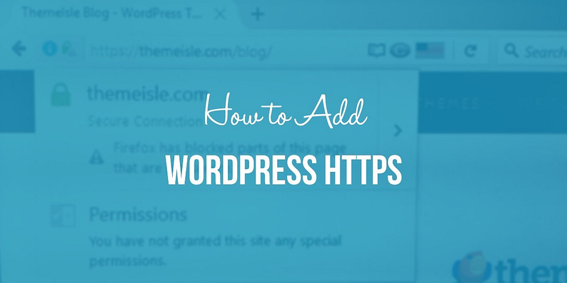 How to add WordPress HTTPS
