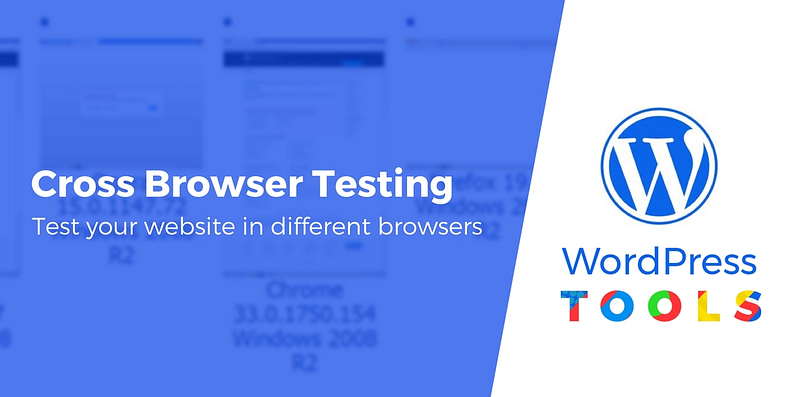 test a website in different browsers