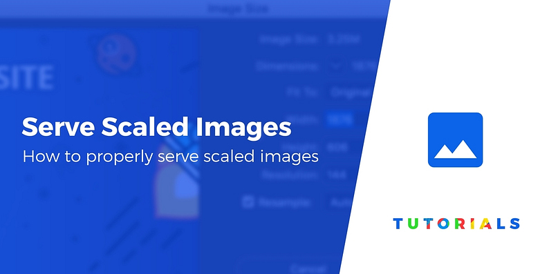 Serve scaled images