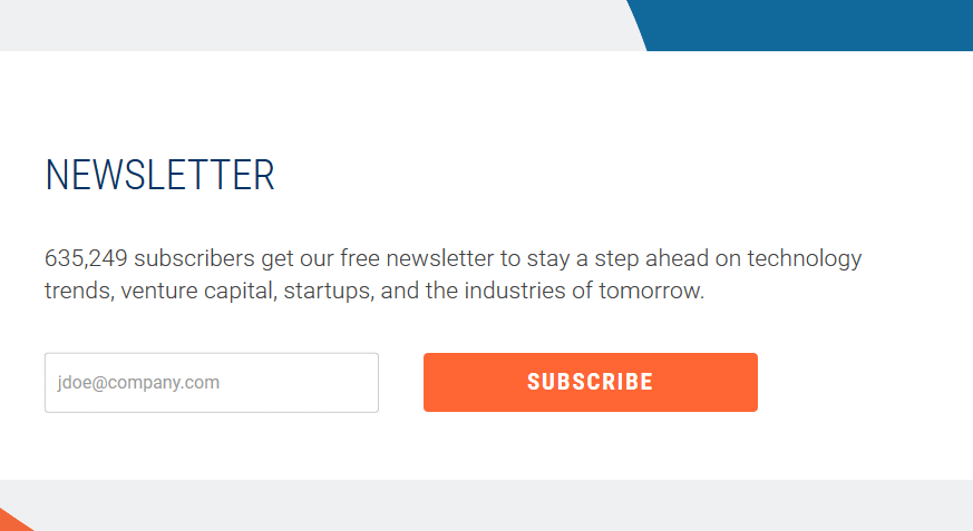 cb insights free tech newsletters