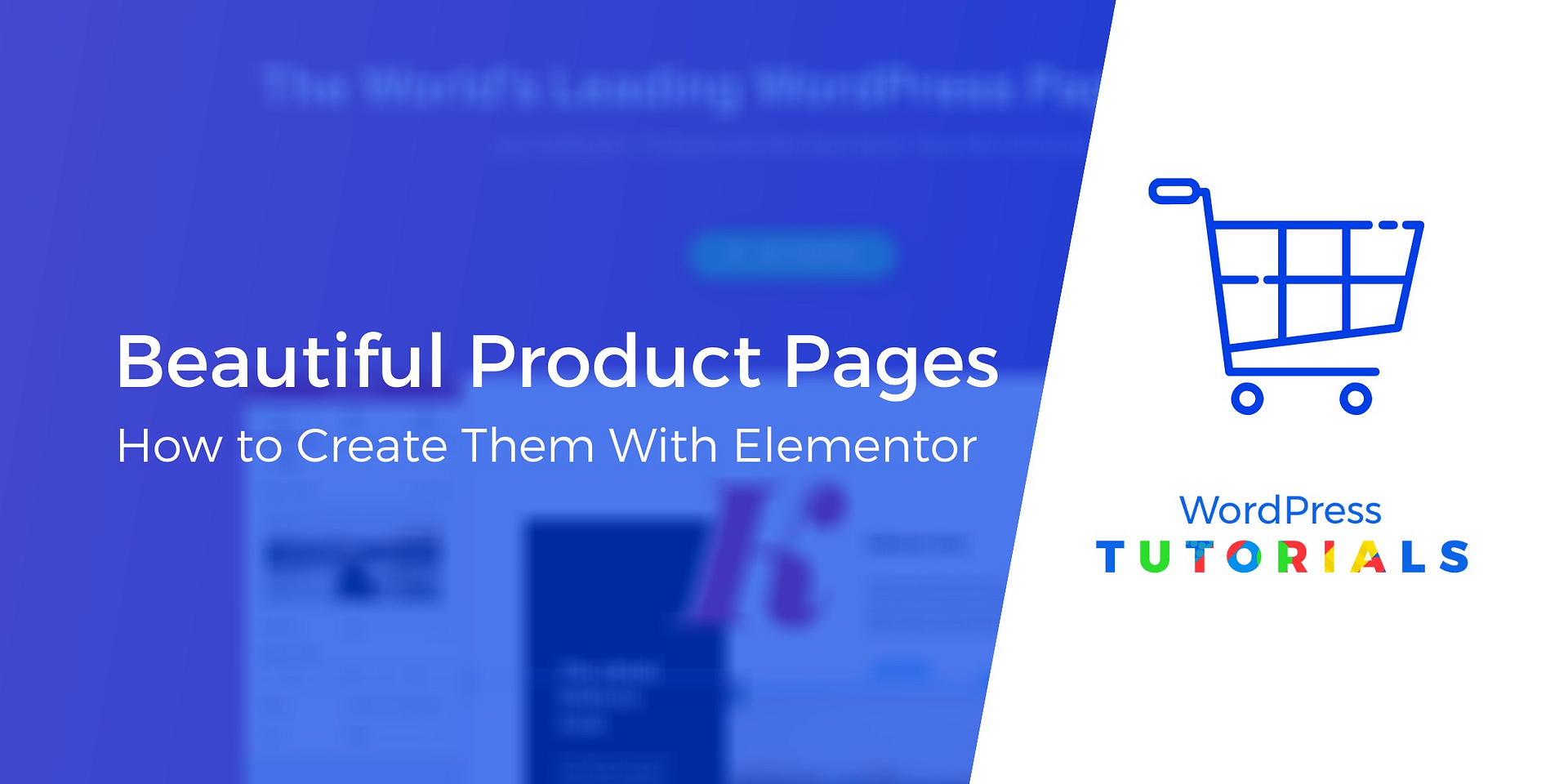 Single Product Template Elementor