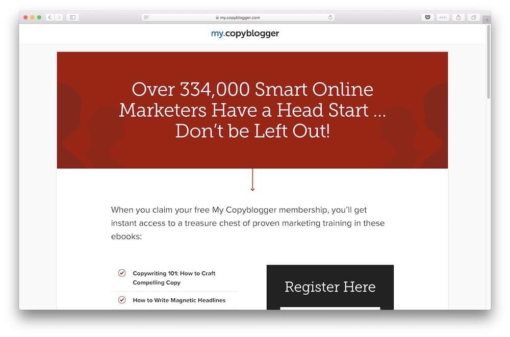 Copyblogger membership