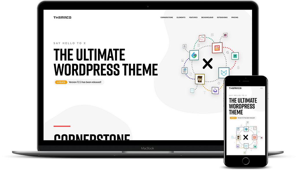 Short name but still one of the fastest WordPress themes X