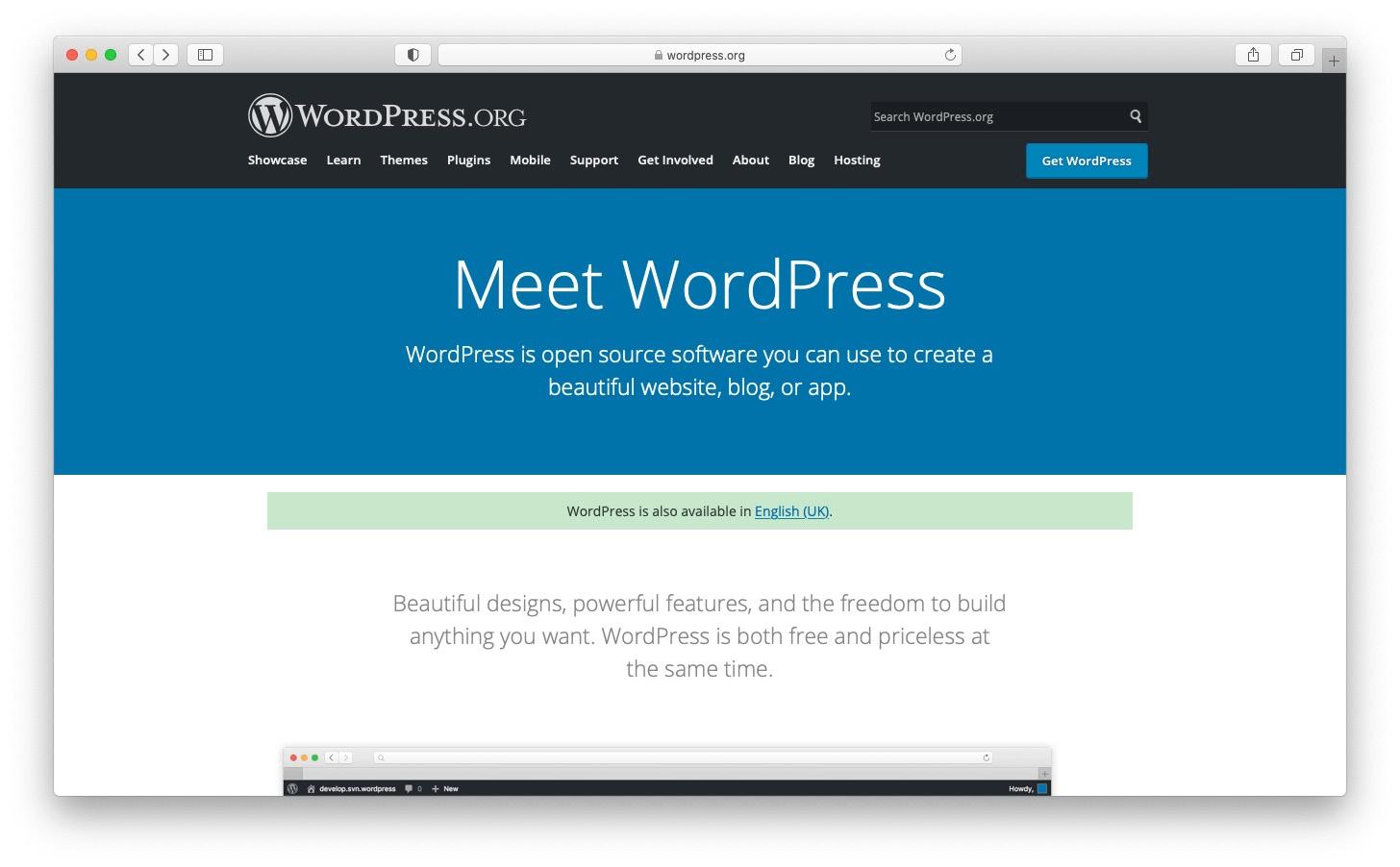 Best free blog sites: WordPress