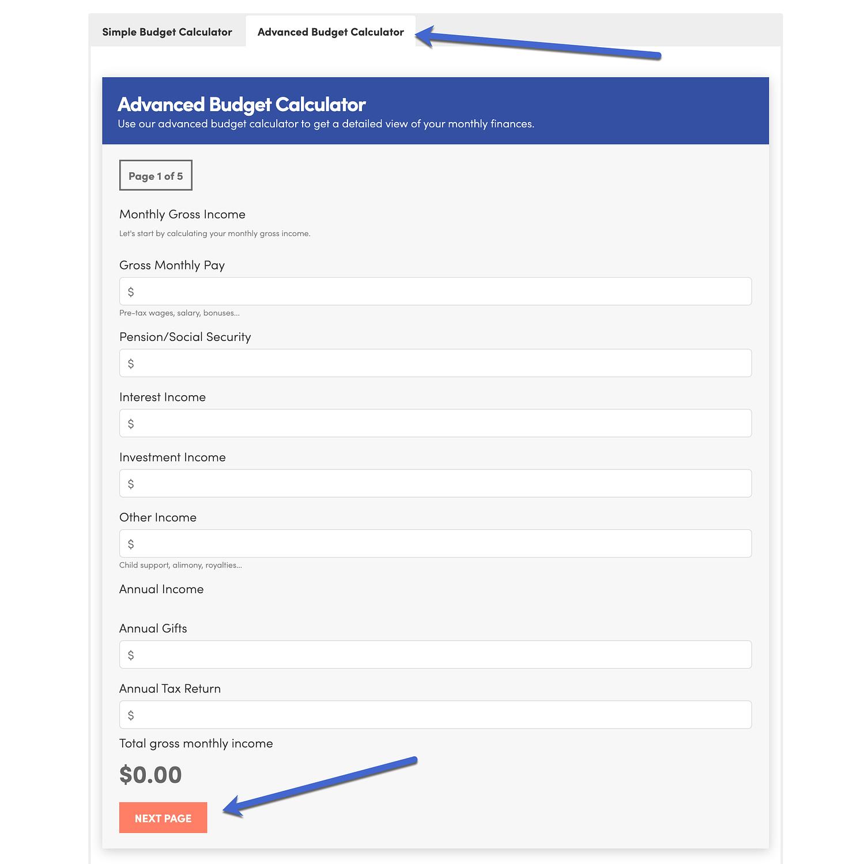 advanced budget WordPress calculator plugins