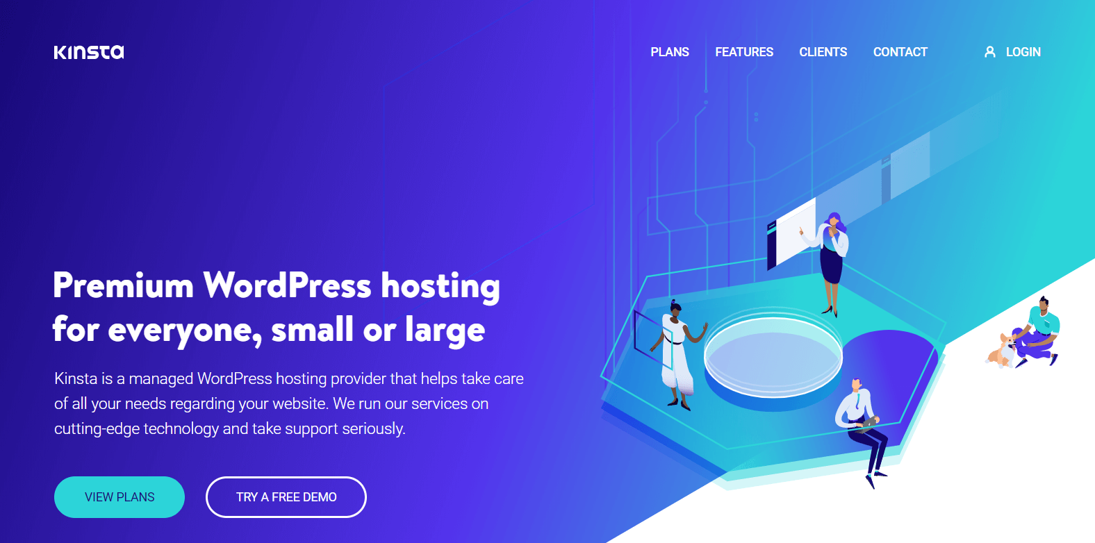 Fastest WordPress hosting: Kinsta
