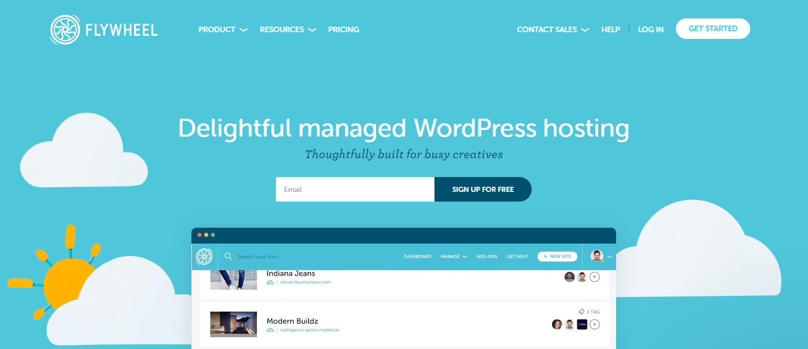 Fastest WordPress hosting: Flywheel