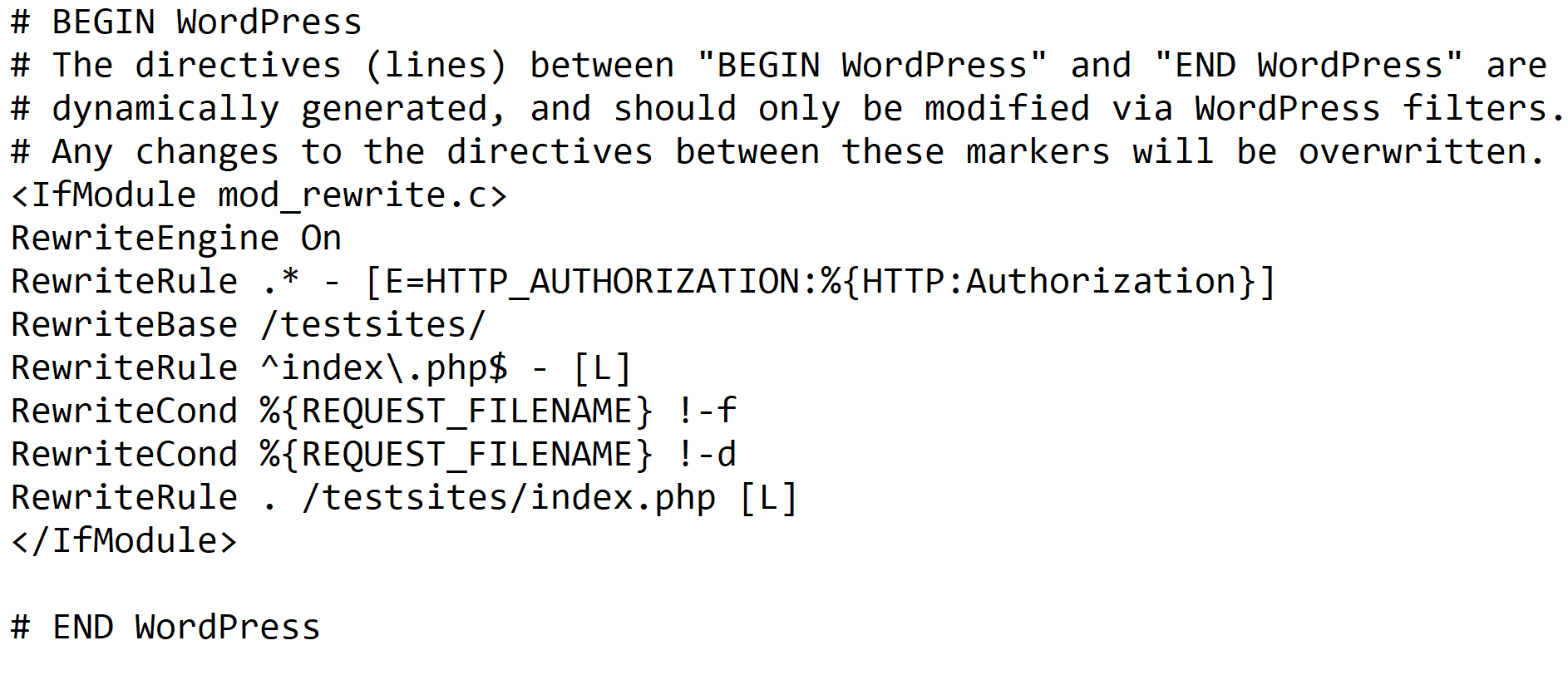 A .htaccess file, which can be edited to protect sites against XSS attacks.