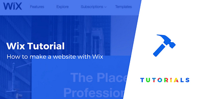 Make a website with Wix