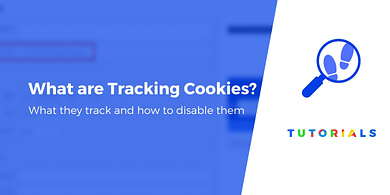 What are tracking cookies