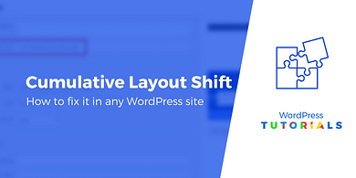 How to fix cumulative layout shift