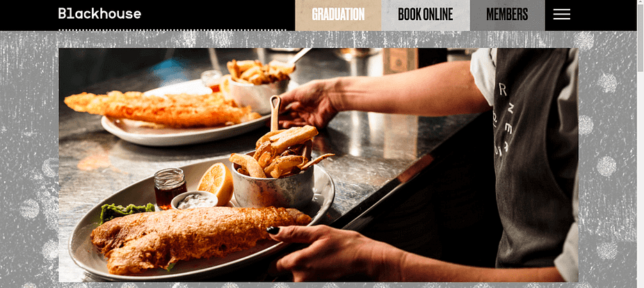 The Blockhouse business needs a website to show pictures of its food