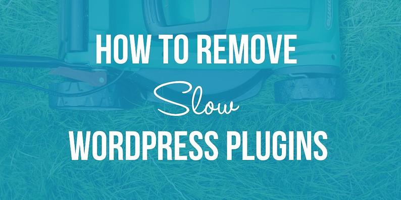 How to Remove Slow WordPress Plugins