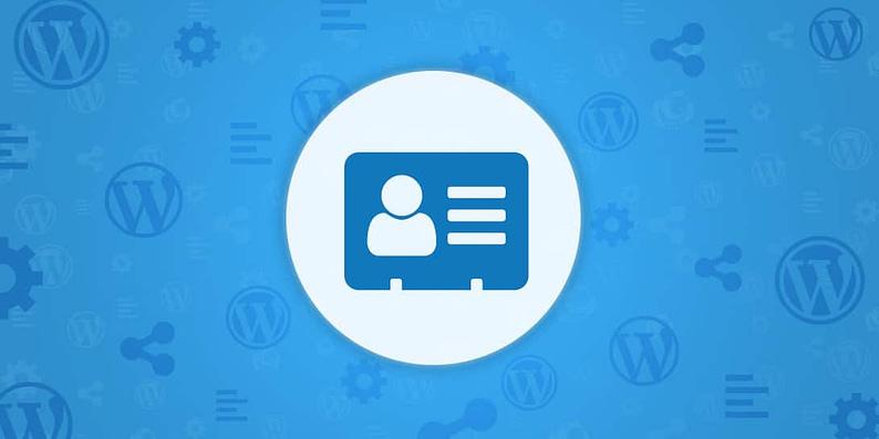WordPress customer database