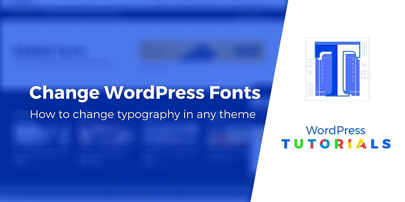 How to change font in WordPress theme