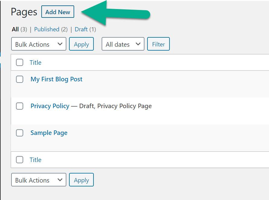 add new - GoDaddy Website Builder to WordPress
