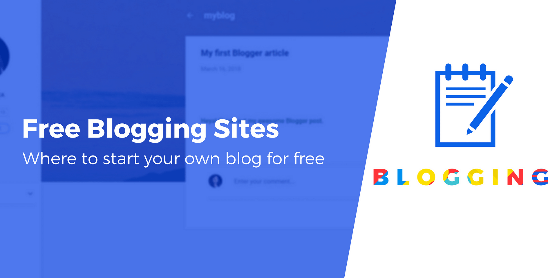 20 Best Free Blogging Sites in 20 Create a Blog for Free