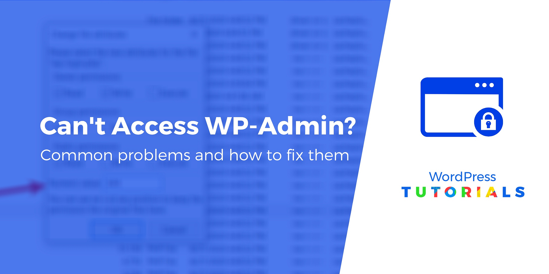 Can T Access Wp Admin 8 Solutions That Always Work