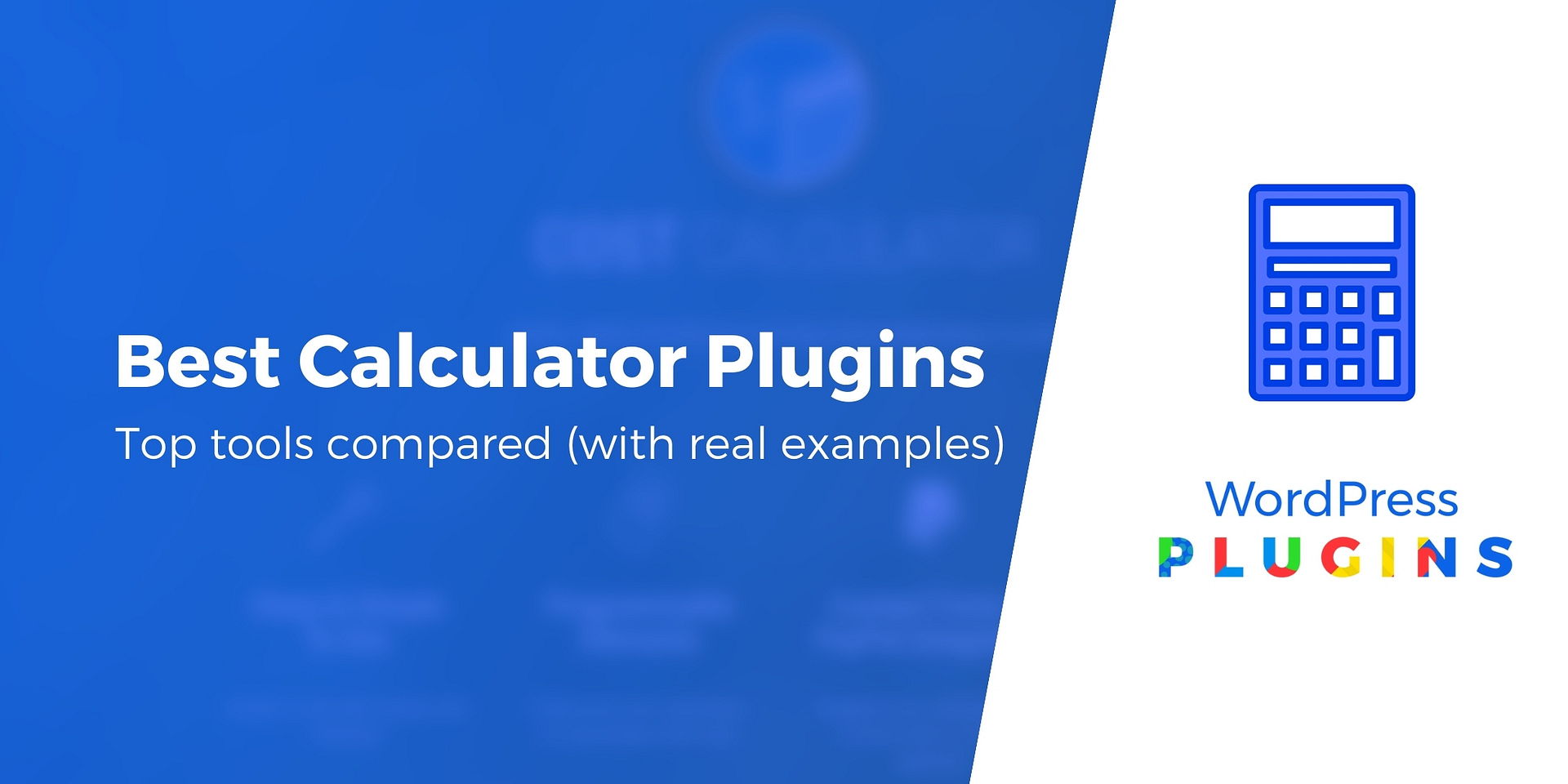 20 Best WordPress Calculator Plugins for Any Use Case 20