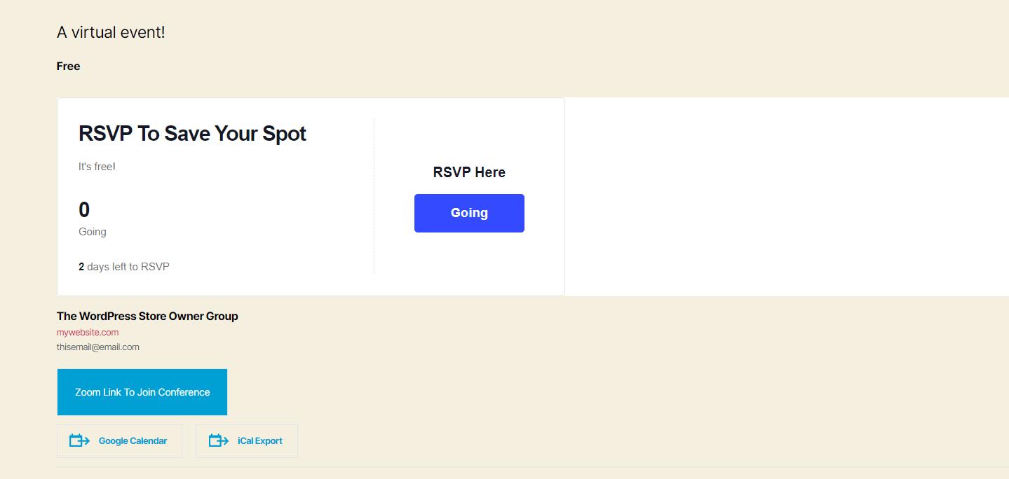frontend rsvp: como organizar um evento virtual